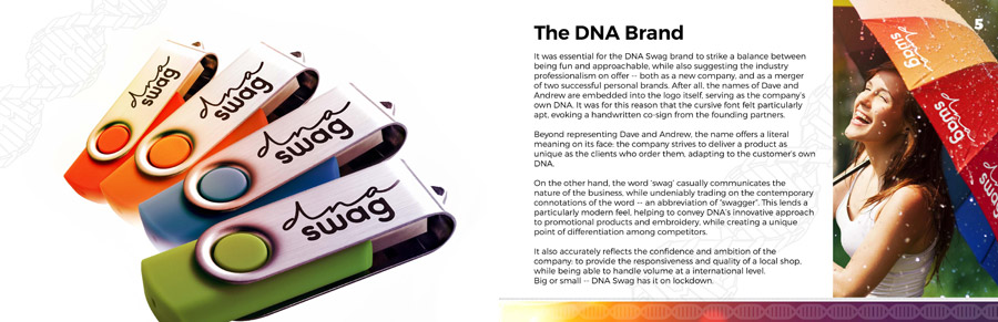 Dna brand standards design